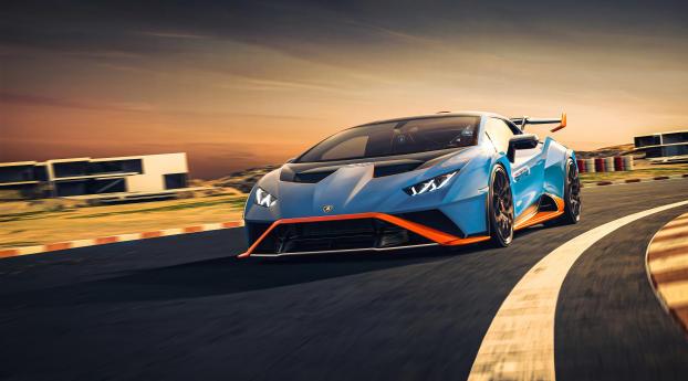 Lamborghini Huracan STO Wallpaper 1024x768 Resolution
