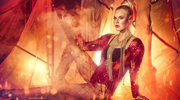 Lana Wwe Halloween 2017 Photoshoot, Full HD Wallpaper
