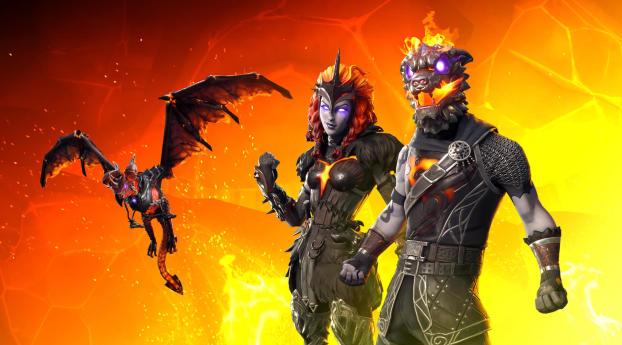 Lava Legends Fortnite Wallpaper