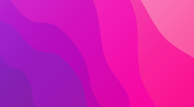 Layers Of Pink Wallpaper