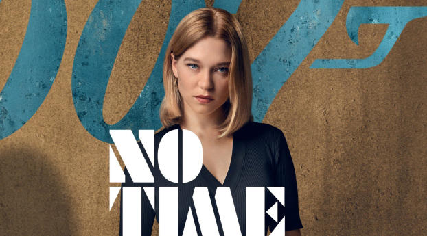 HD Wallpaper | Background Image Lea Seydoux From No Time to Die Bond Movie