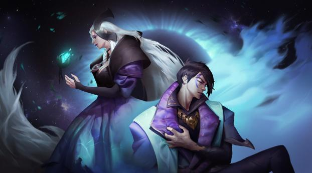 HD Wallpaper | Background Image League Of Legends Aphelios
