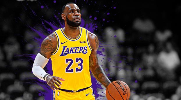 LeBron James 23 NBA Wallpaper