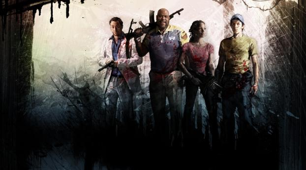 1440x2560 left 4 dead, characters, faces Samsung Galaxy S6,S7,Google