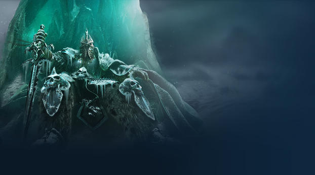 HD Wallpaper | Background Image Lich King in Warcraft