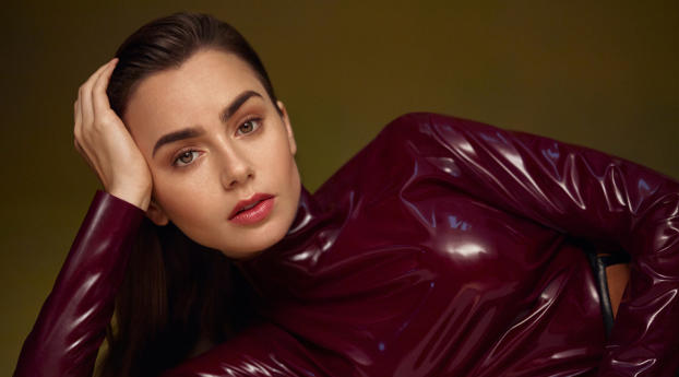 Lily Collins 2020 Wallpaper