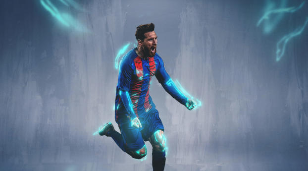 HD Wallpaper | Background Image Lionel Messi 2019