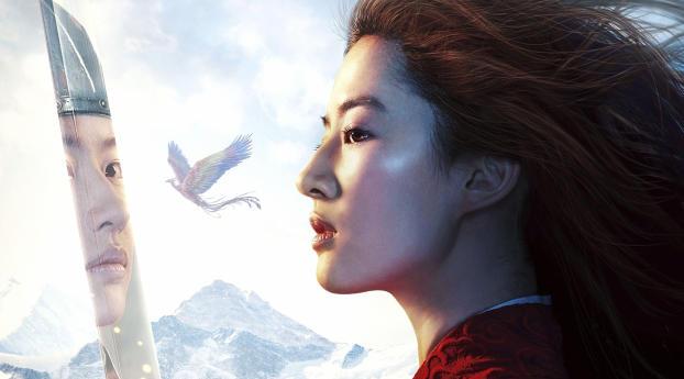 Liu Yifei As Hua Mulan Wallpaper Hd Movies 4k Wallpapers Images Photos And Background
