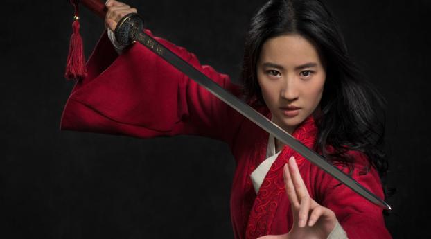 HD Wallpaper | Background Image Liu Yifei as Mulan