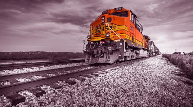 Locomotive Train Wallpaper 1440x2560 Resolution