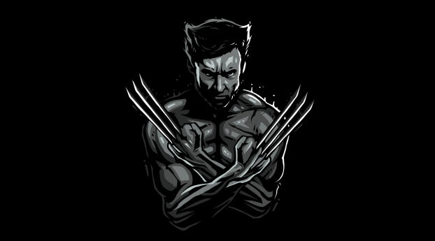 HD Wallpaper | Background Image Logan Wolverine Minimal