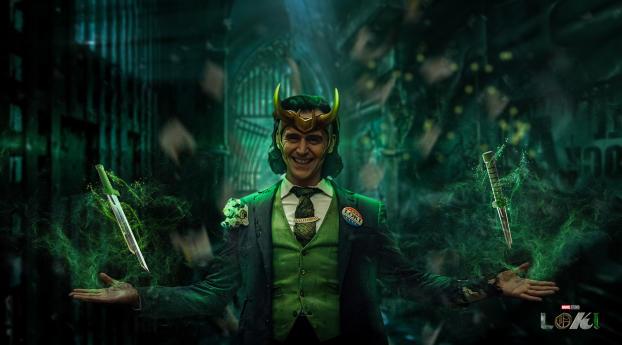 Loki TV Series Wallpaper