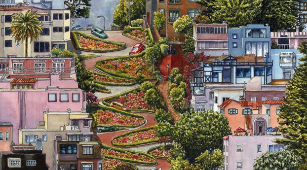 950x1534 Lombard Street San Francisco California 950x1534 Resolution Wallpaper Hd City 4k Wallpapers Images Photos And Background