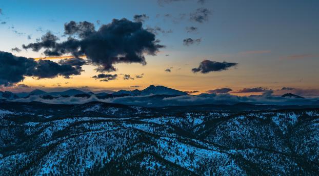 HD Wallpaper | Background Image Longs Peak Colorado