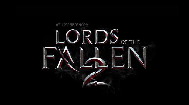 Lords of the Fallen 2 Logo Wallpaper