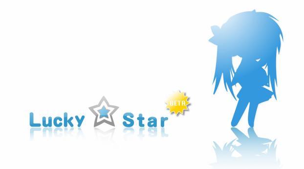 lucky star, hiiragi kagami, girl Wallpaper