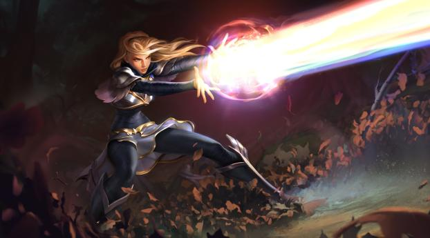 HD Wallpaper | Background Image Lux in League Of Legends