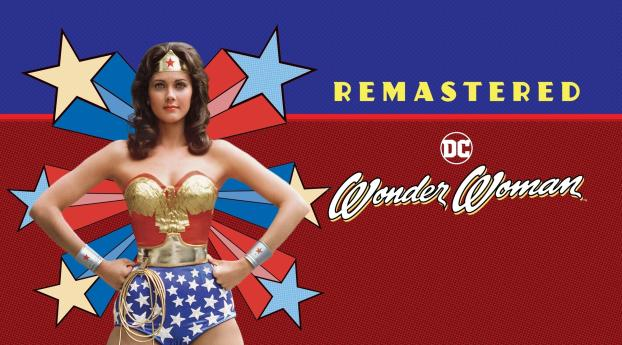 Lynda Carter as Wonder Woman Wallpaper