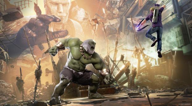 Maestro Hulk Wallpaper 320x568 Resolution