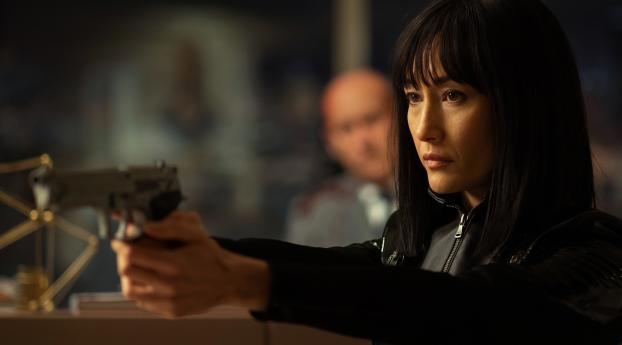 Maggie Q in The Protégé Movie Wallpaper