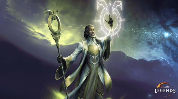 Magic Legends Sanctifier Class Wallpaper 2048x1152 Resolution