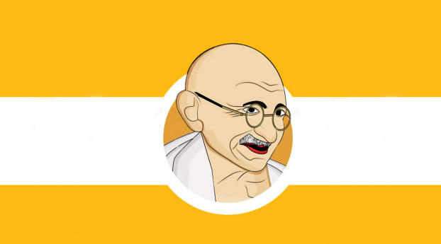HD Wallpaper | Background Image Mahatma Gandhi