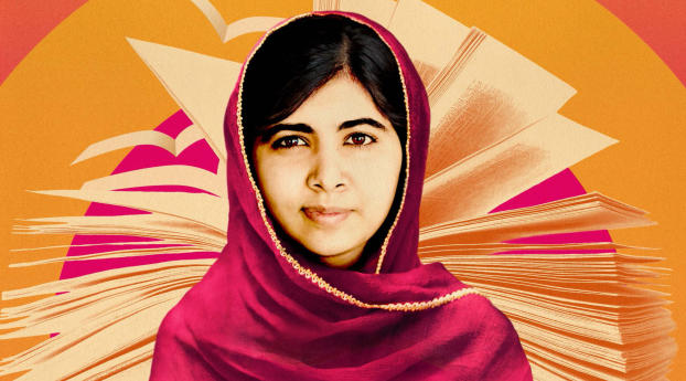 Malala Yousafzai Wallpaper in 1366x768 Resolution