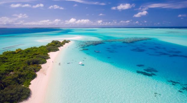 Maldives Beach Wallpaper