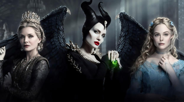 Maleficent Mistress of Evil Wallpaper