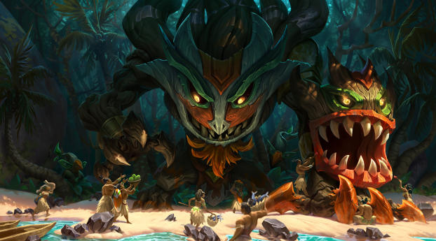HD Wallpaper | Background Image Maokai League Of Legends