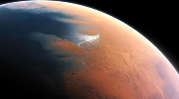 HD Wallpaper | Background Image Mars Surface View