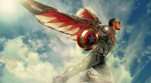 Marvel Falcon Wallpaper