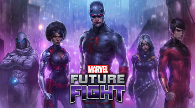 HD Wallpaper | Background Image MARVEL Future Fight Video Game