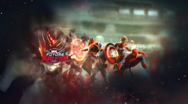 Marvel Future Revolution Game Wallpaper