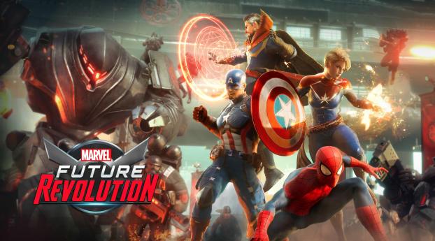 Marvel Future Revolution Key Art 4K Wallpaper