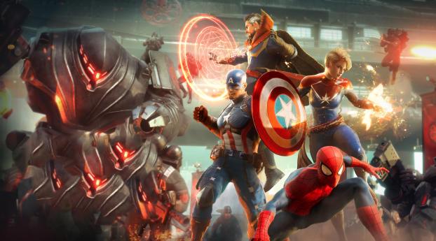 Marvel Future Revolution Poster 4K Wallpaper
