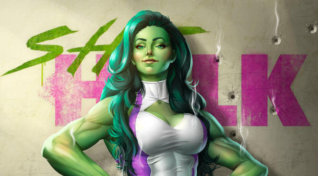 480x484 Marvel She Hulk Android One Wallpaper Hd