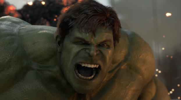 HD Wallpaper | Background Image Marvels Avengers Hulk