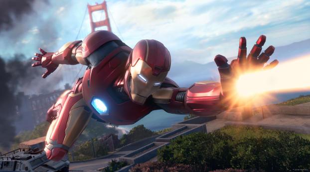 HD Wallpaper | Background Image Marvels Avengers Iron Man