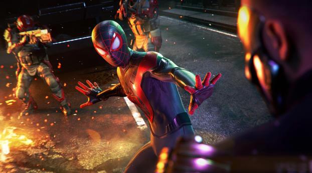 Marvels Spider Man Miles Morales PS5 Wallpaper
