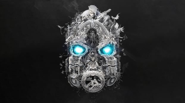 HD Wallpaper | Background Image Mask of Mayhem 5K