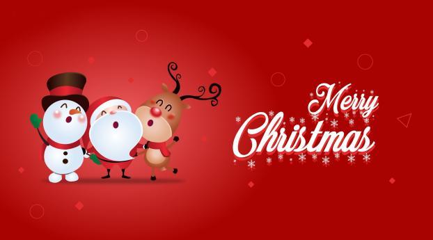 Merry Christmas Santa 2020 Wallpaper 540x960 Resolution