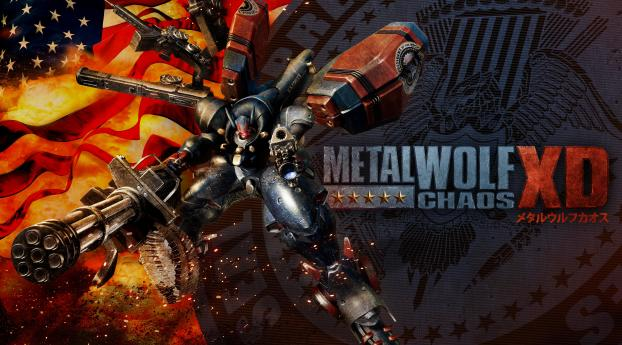 HD Wallpaper | Background Image Metal Wolf Chaos XD