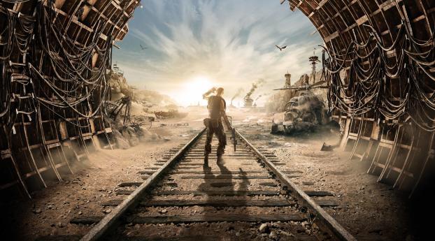 Metro Exodus 4k 8k Poster Wallpaper, HD Games 4K ...