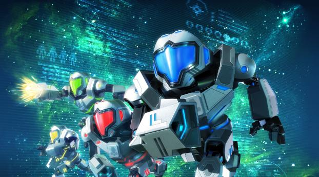 HD Wallpaper | Background Image Metroid Prime Federation Force
