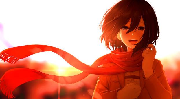 Mikasa Ackerman Anime Wallpaper 1920x1080 Resolution