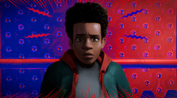 HD Wallpaper | Background Image Miles Morales In Spider Man Into The Spider Verse