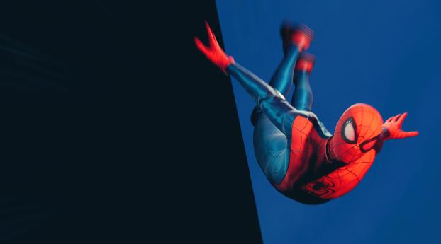 Miles Morales Marvels Spider-Man Wallpaper