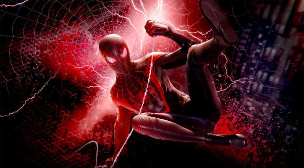 Miles Morales Spider-Man PS4 Wallpaper