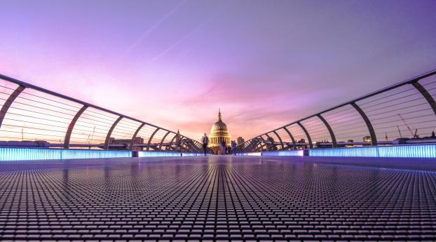 2048x1152 Millennium Bridge London 2048x1152 Resolution